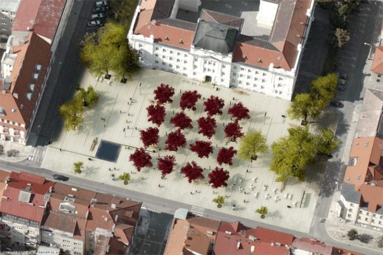 Náhledový obrázek náměstí T.G.M. - Tábor 1