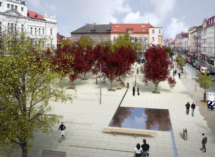 Náhledový obrázek náměstí T.G.M. - Tábor 3