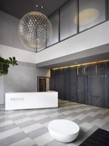 Náhledový obrázek Rohan Business Centre - redesign recepce 1