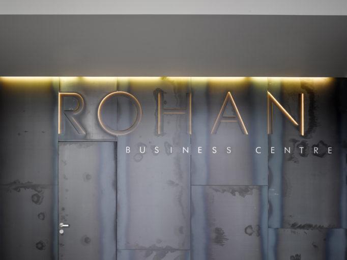 Náhledový obrázek Rohan Business Centre - redesign recepce 3