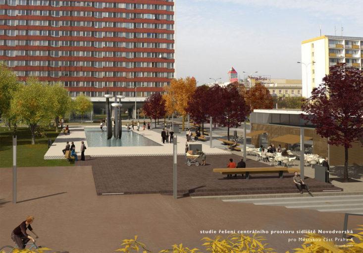 Náhledový obrázek náměstí Novodvorská 1